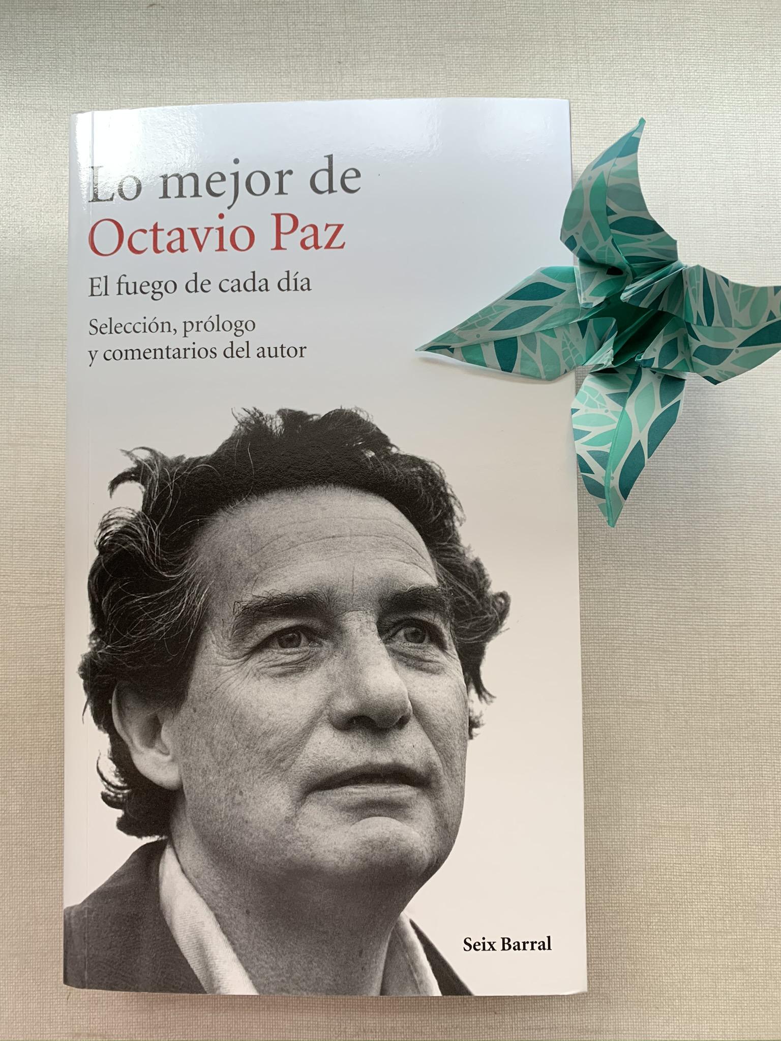 Libro Lo mejor de Octavio Paz
