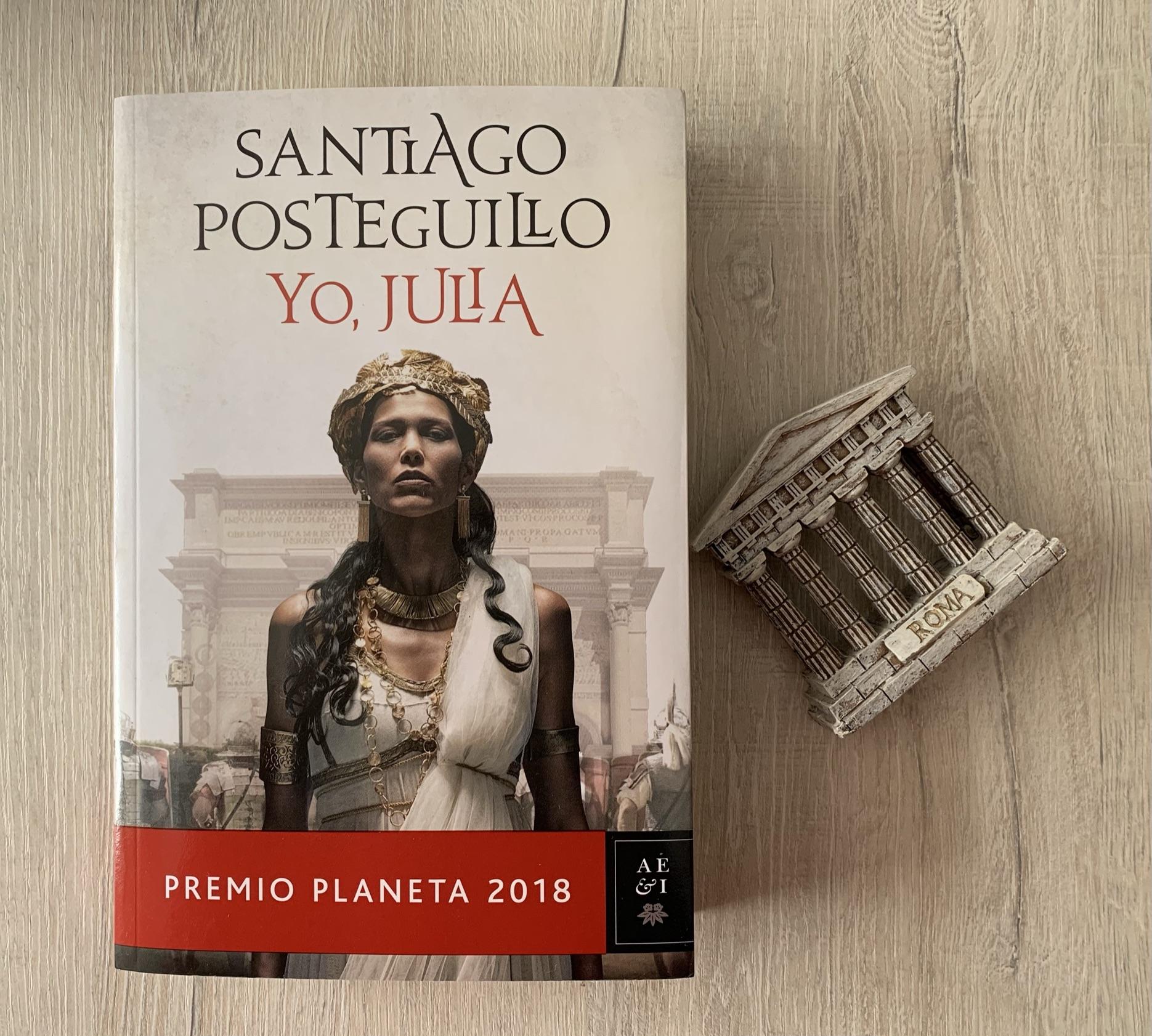 Libro Yo, Julia de Santiago Posteguillo