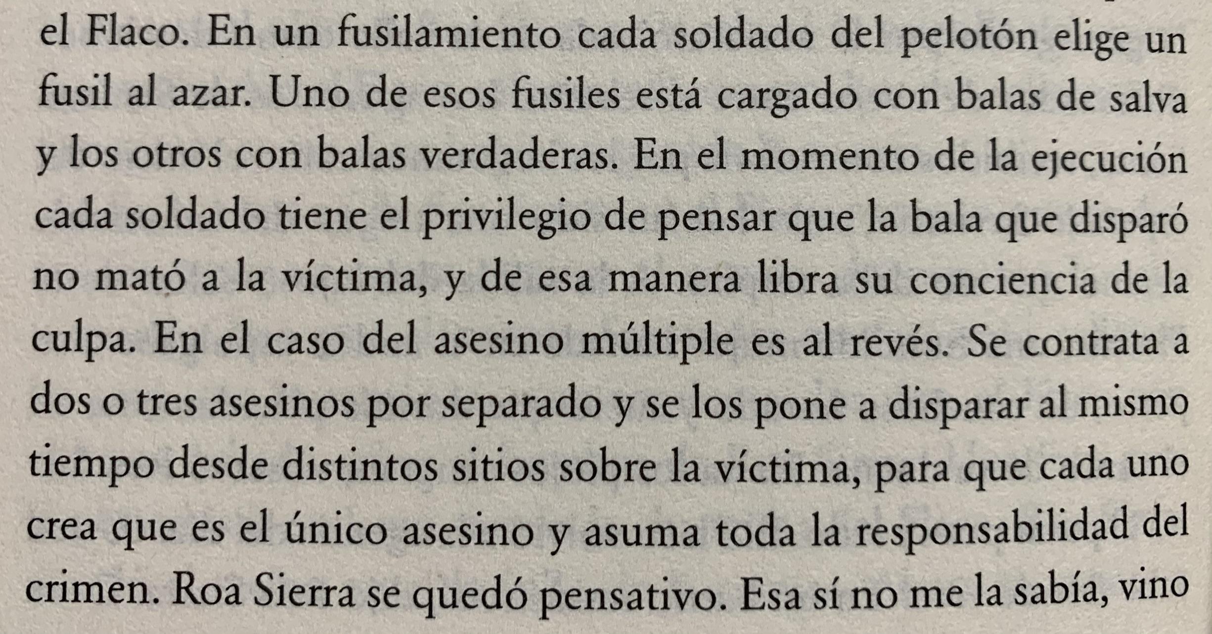Fragmento del libro El crimen del siglo de Miguel Torres
