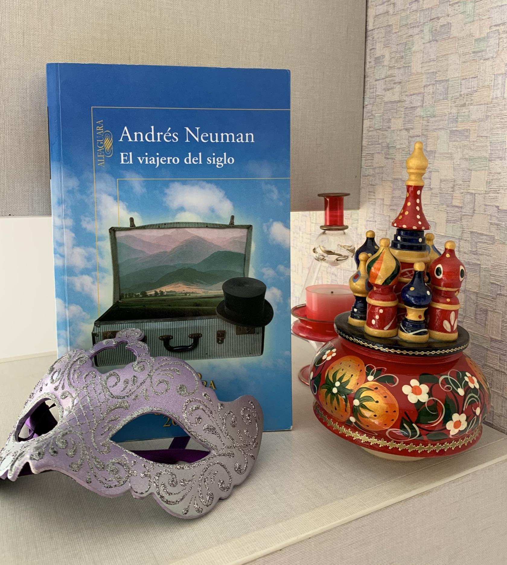 Libro El viajero del siglo de Andrés Neuman
